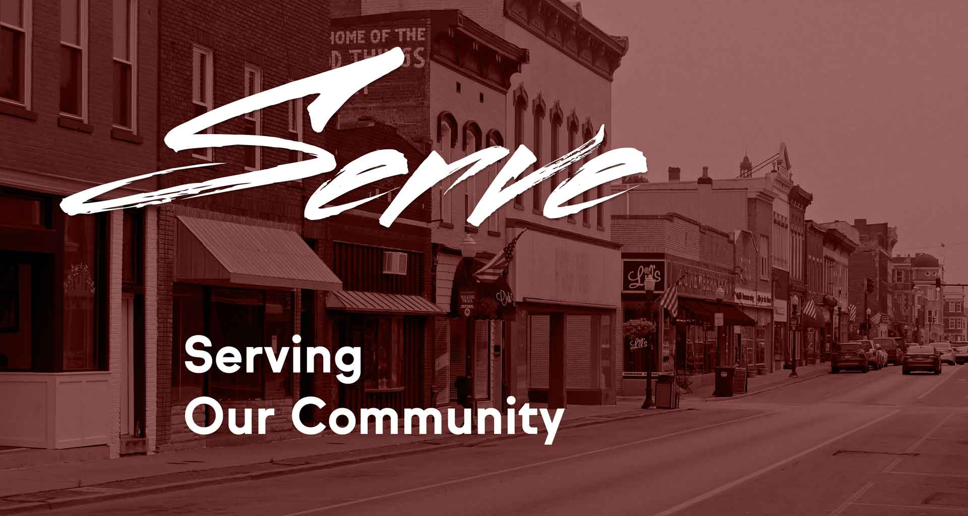 Serve: Serving Our Community
